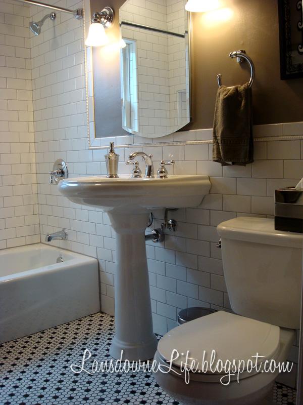 Our DIY Bathroom Renovation Is DONE Lansdowne Life - Quick bathroom renovation