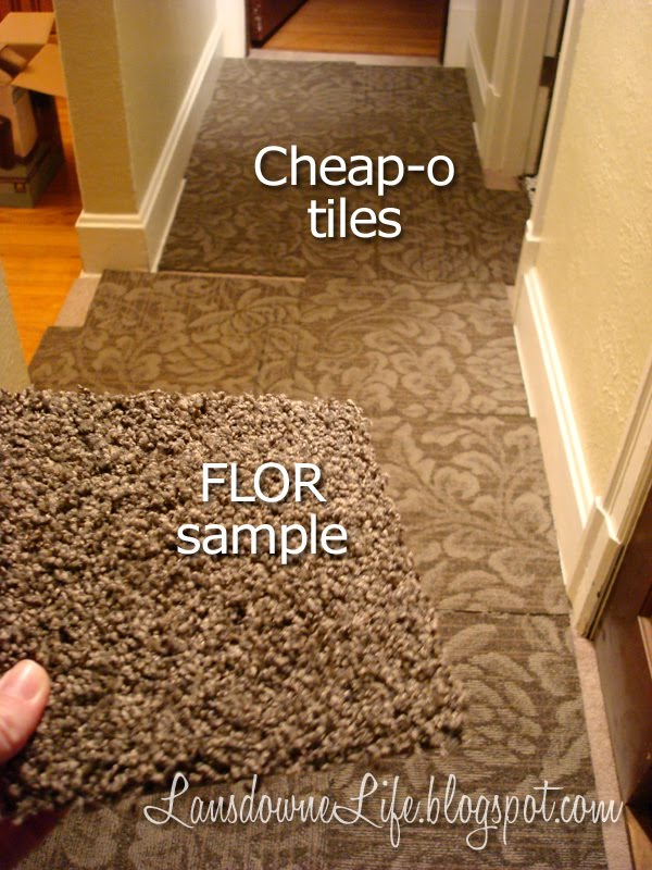 A Story About Carpet Tiles And A 200 Savings Lansdowne Life - Tiles-for-the-hallway