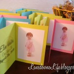 First Birthday Party: The Favors