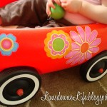 Toy wagon makeover