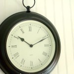 Clock makeover with a Pottery Barn twin