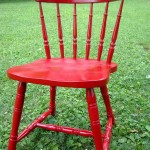 "The ""Heidi"" chair: a dumpster find makeover"