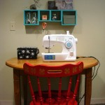 A space for sewing (and other stuff)