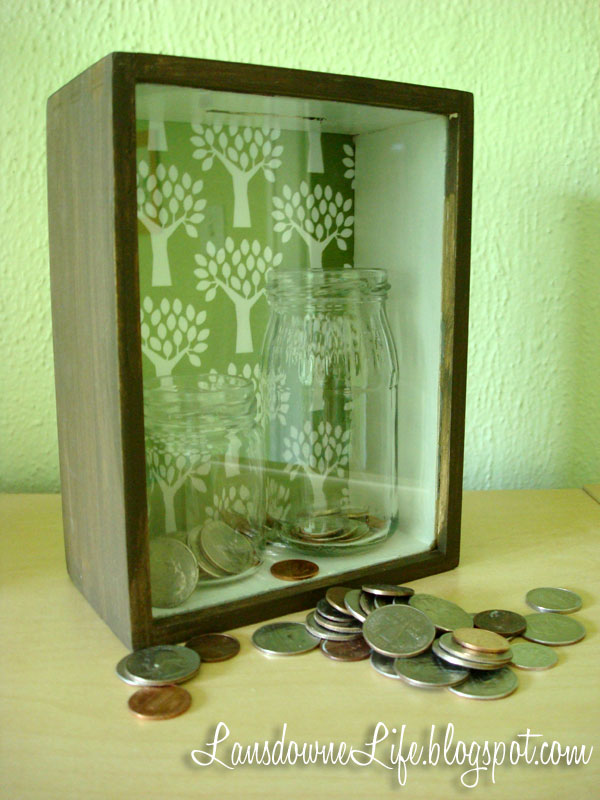How to make a shadowbox frame bank - Lansdowne Life