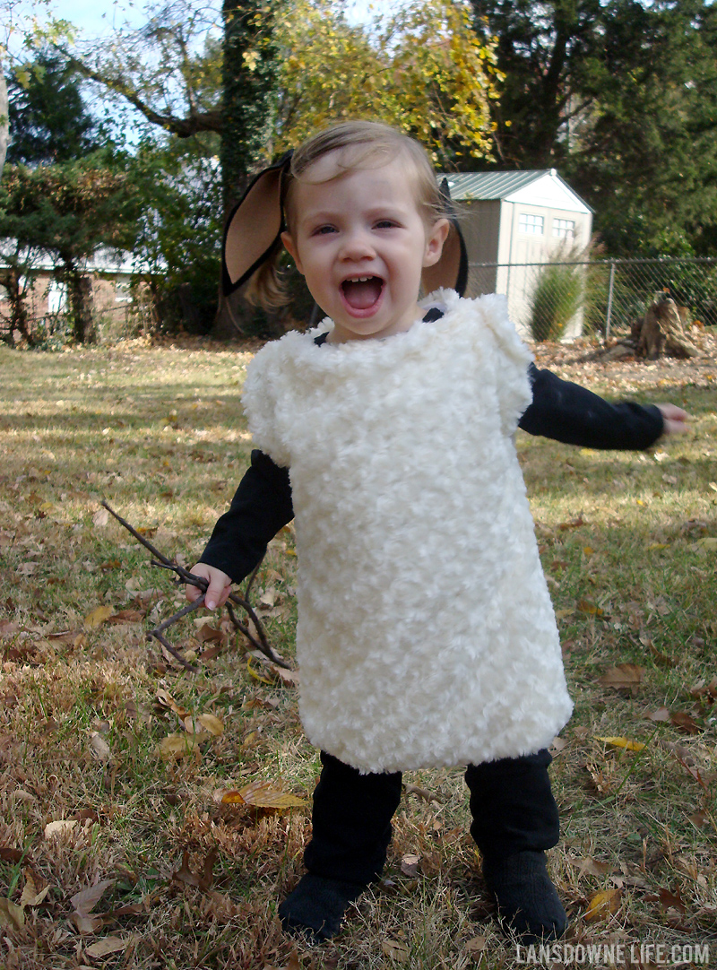 Handmade sheep costume  sc 1 st  Lansdowne Life : black sheep costume for kids  - Germanpascual.Com
