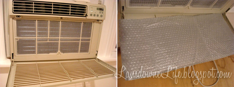 Window air conditioner cover - Lansdowne Life