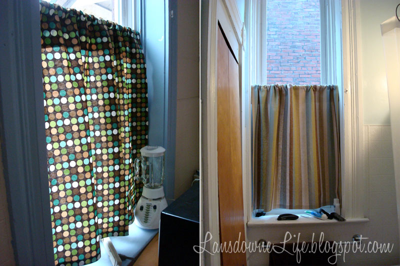 Cafe-style curtains