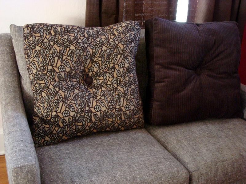 Floor Box Pillows : More box-style floor pillows - Lansdowne Life
