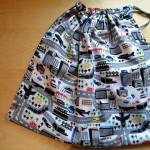 Drawstring bag / On-the-go playmat