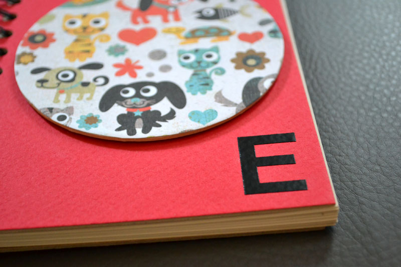 Make a kid quote notebook
