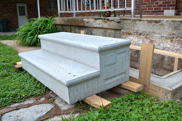 Pre Assembled Decks Patio : Lowes cement steps images reverse search