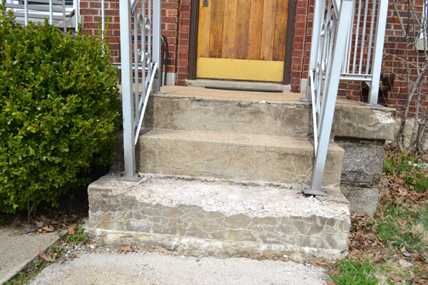 Replacing our crumbling concrete porch steps - Lansdowne Life