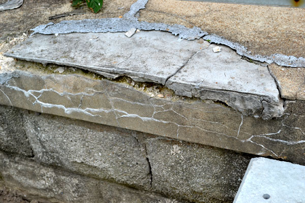 Image Result For Concrete Step Repairs Crumbling