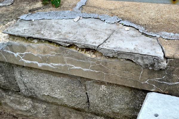 Crumbling Concrete Porch Steps