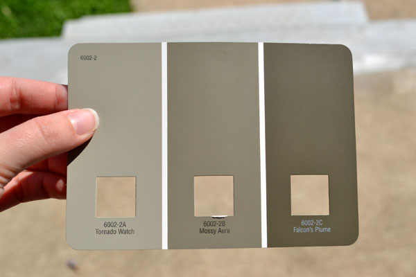 Paint colors for a concrete porch
