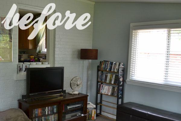 Installing custom shelves for DVD storage