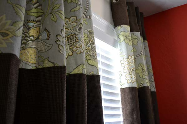 Customizing And Lengthening Store Bought Curtain Panels