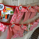 Countdown to Christmas: DIY Fabric advent calendar