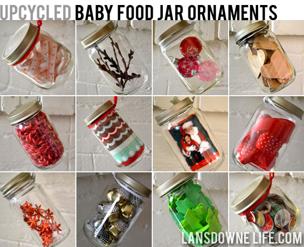 Upcycled Baby Food Jar Ornaments 12 Ideas To Try Lansdowne Life