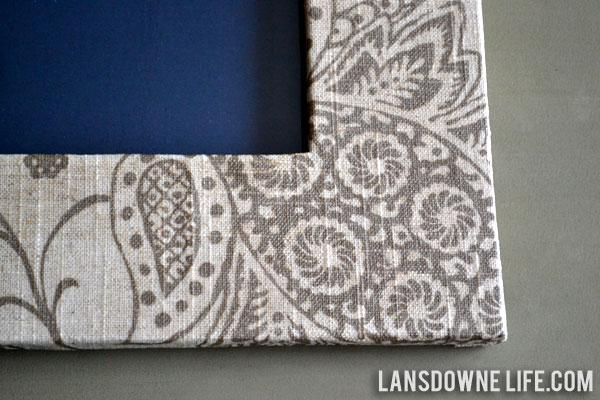 Fabric Wrapped Photo Frame Lansdowne Life