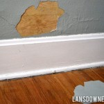 Why you shouldn't paint over wall paper…