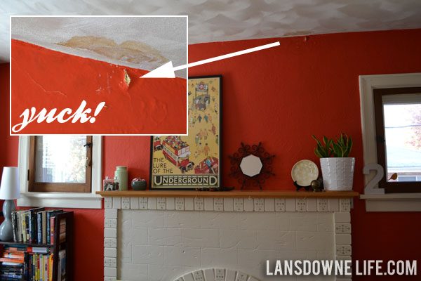 How To Patch Plaster And Hide A Water Stain Lansdowne Life