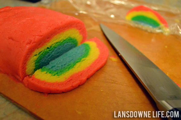 rainbow slice and bake sugar slice and bake cookie dough is and they ...