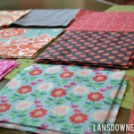 Twin quilt progress report: Planning and cutting