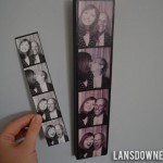 Photobooth photo wall art