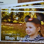 Disney World Magic Kingdom birthday party: Invitations