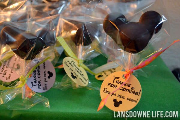 Disney World Magic Kingdom birthday party Favors Part 2
