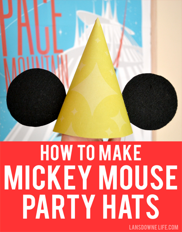 How to Make Mickey Mouse Ears Birthday Party Hats