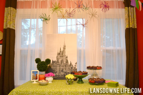 Disney World Magic Kingdom birthday party Decorations Lansdowne Life