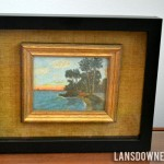 Enlarge and elevate tiny artwork with a shadowbox