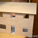 Fixer upper dollhouse: Prepped and primed