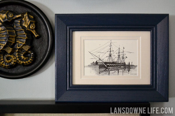 wow i totally did not intend to blow off last week but a bad cold knocked me down for a few days i hate that helpless feeling of having a thousand things - Nautical Picture Frame