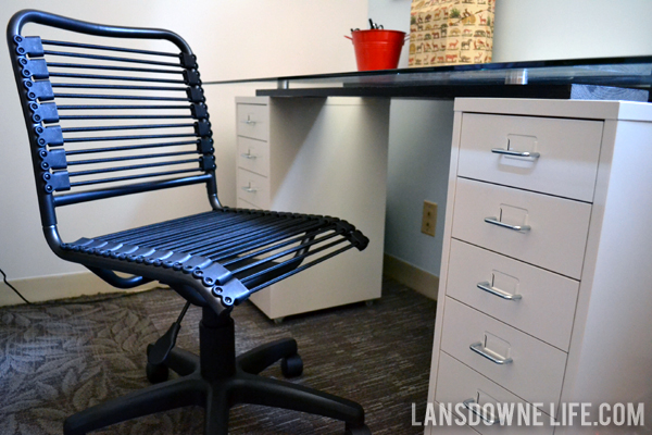 Mini office makeover Desk upgrades Lansdowne Life