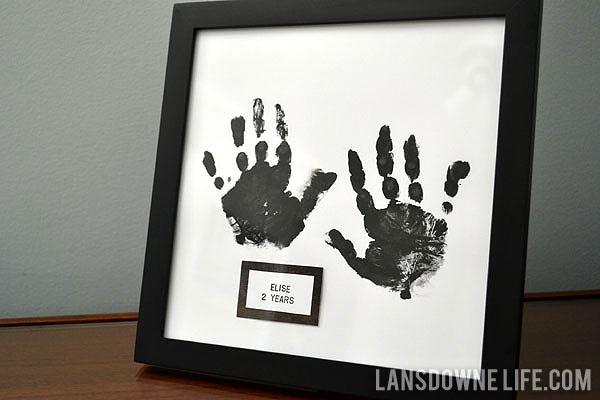 Kid Hand Print Art Lansdowne Life