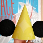 Mickey Mouse ear birthday party hats