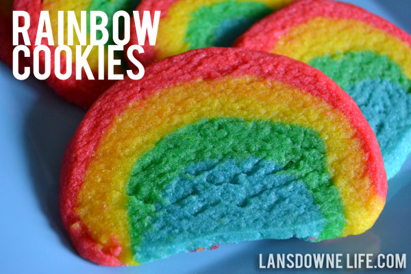Rainbow Slice And Bake Sugar Cookies Recipes — Dishmaps