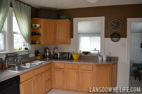 Small Old Kitchen Makeover next up: a much anticipated kitchen makeover - lansdowne life
