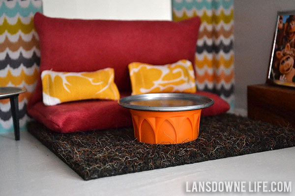 Diy Dollhouse Living Room Dining Room Part 2 Of 6 Lansdowne Life