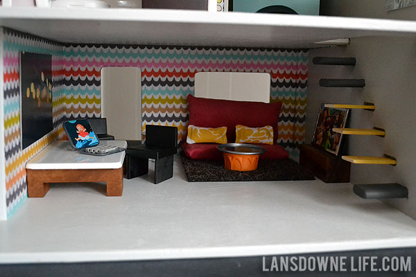 How To Make Dollhouse Furniture For Dining Room And Living