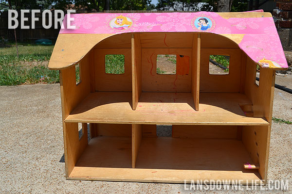 ... DIY dollhouse with homemade furniture (Part 1 of 6) - Lansdowne Life