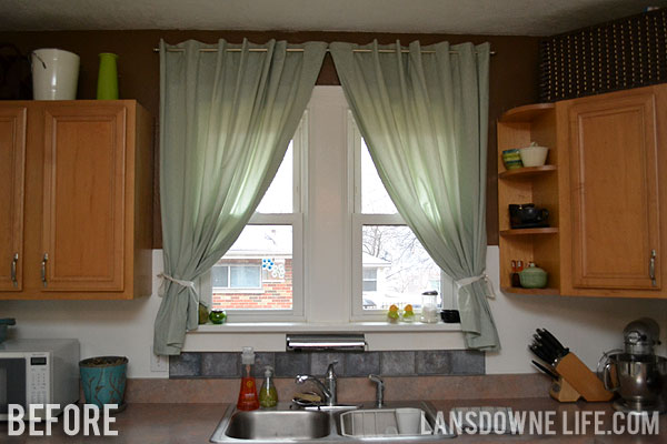 I Put Up Curtains In Our Kitchen ...