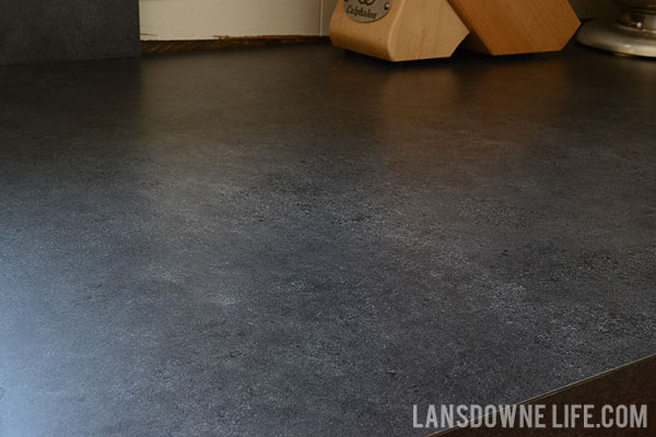 Soapstone Laminate Countertops : At last another kitchen update lansdowne life