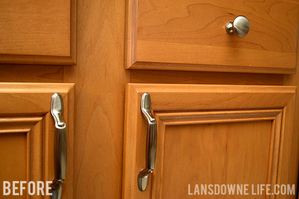 Easy Upgrade: Bargain Kitchen Cabinet Pulls - Lansdowne Life