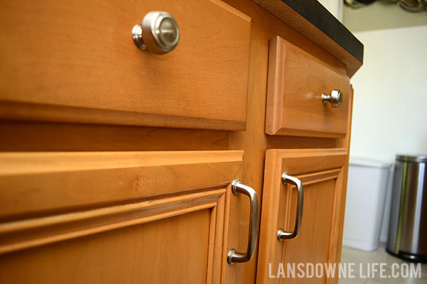easy upgrade bargain kitchen cabinet pulls lansdowne life
