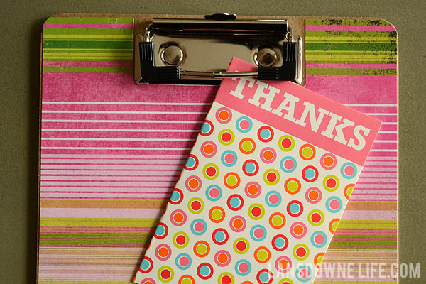 Easy end-of-year teacher thank you gifts: Decoupaged ...