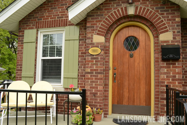 Curb appeal: Adding board and batten cottage-style shutters ...